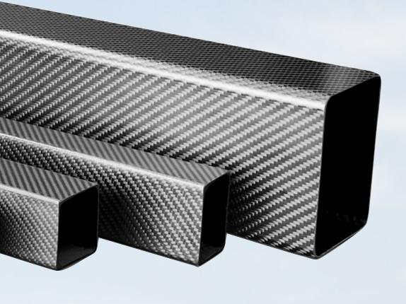 Carbon fiber kokerprofielen
